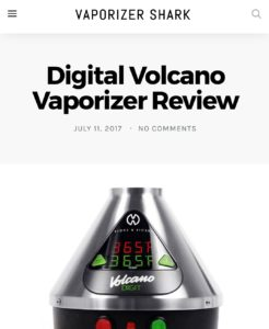 VaporizerShark.com's Digital Volcano Review