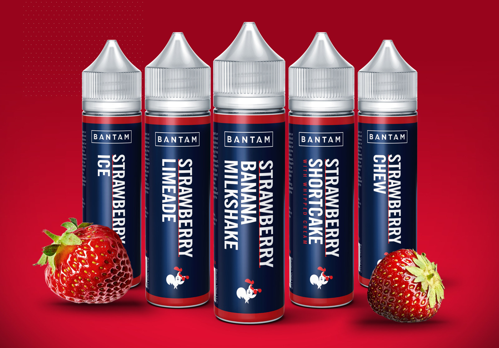 Strawberry E-Liquids By Bantam Vape