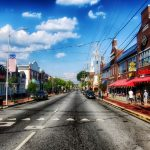 Photo of downtown Newark, Delaware