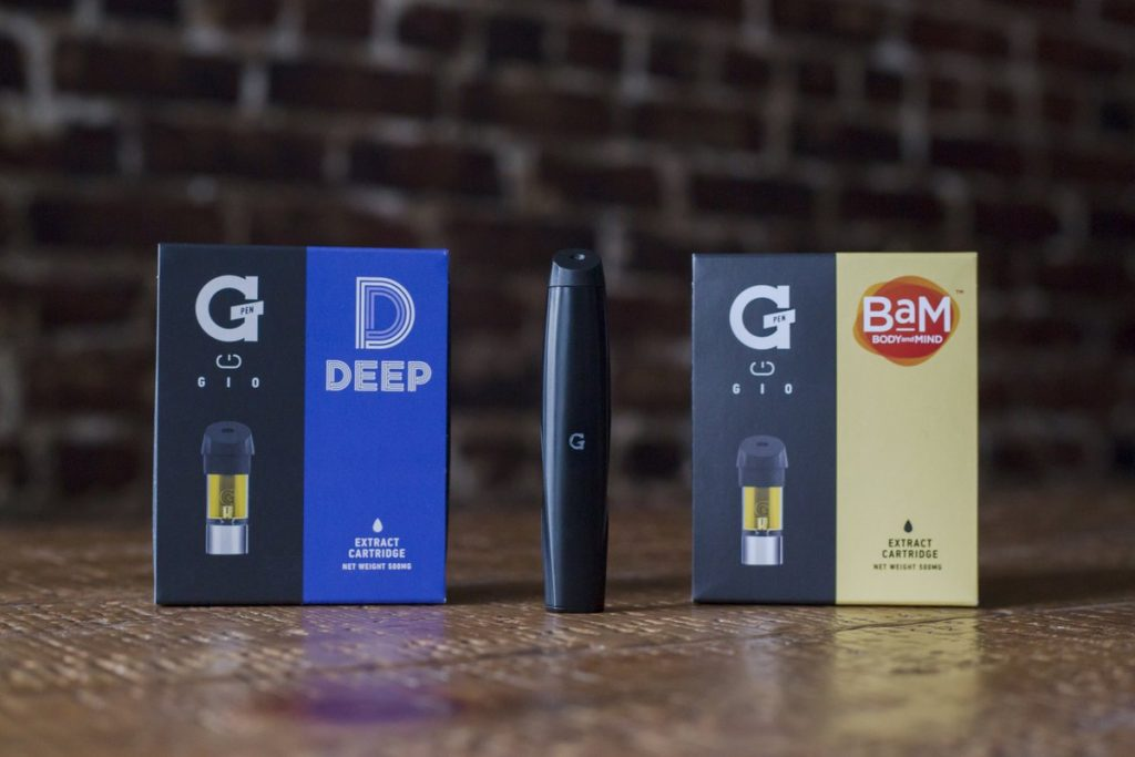Grenco Science's G Pen Gio Cartridges Are Now Available In Nevada