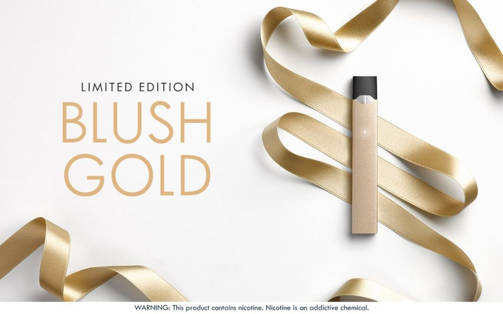 Juul Labs Releases New Limited Edition Blush Gold Color Juul