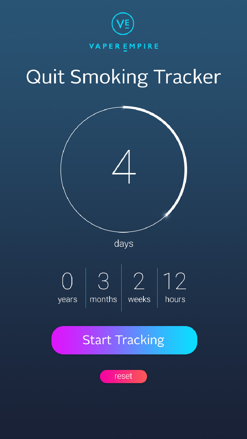 Vapers Can Track How Much Time Has Passed Since They Quit Smoking With This New App